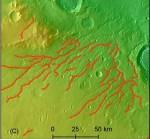 Mars kende vroeger een uitgebreid rivierennetwerk