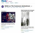 NASA zet historische foto's op Flickr
