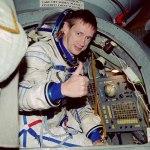 ESA-astronaut Frank de Winne woensdag in Noordwijk
