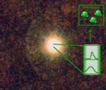 Waterdamp gevonden in de atmosfeer van een koolstofster