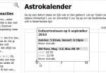 Bekijk aankomende ISS-passages in de Astrokalender