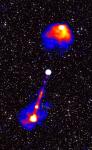 Gigantische kosmische rivier bij quasar in kaart gebracht