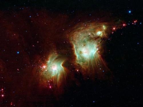 M78, een stervormingsgebied in Orion