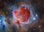 Zó heb je de Orionnevel vermoedelijk nog niet eerder gezien