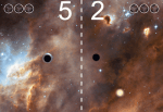 Zin in een spelletje ping pong met zwarte gaten?