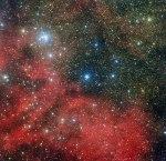 Een sterrenhoop in een sterrenhoop
