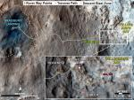 Curiosity heeft rotsformatie Shaler in 2D en 3D onderzocht: nee, geen water aldaar