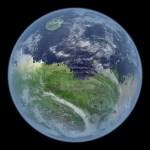 Hoe zou een blauwe, levende Mars eruit kunnen zien?