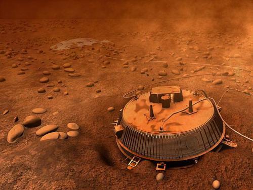 Huygens op Titan
