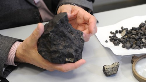 Tsjeljabinsk meteoriet kilo