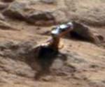Curiosity heeft weer iets glimmends gefotografeerd op Mars