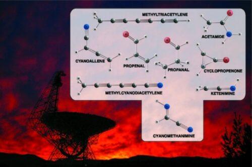Afbeeldingsresultaat voor Bouwstenen DNA en aminozuren ontdekt in de ruimte