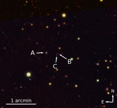 Triple quasar