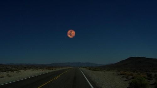 Mars als maan