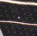 Zonnepaneel ISS vandaag doorboort door kleine meteoroïde