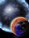 Historische supernova liet indruk na op ijzerminnende bacterieën op aarde