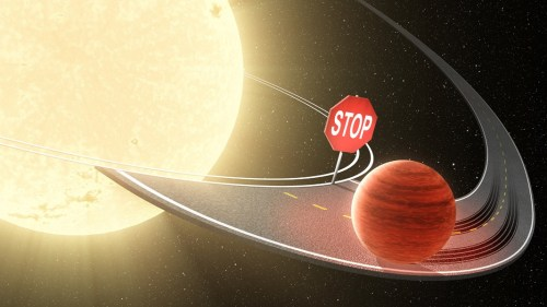 stop migration hot jupiters