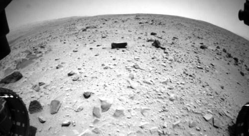 Curiosity first kilometer