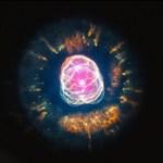 Kosmische eskimo vormt de laatste adem van een stervende ster