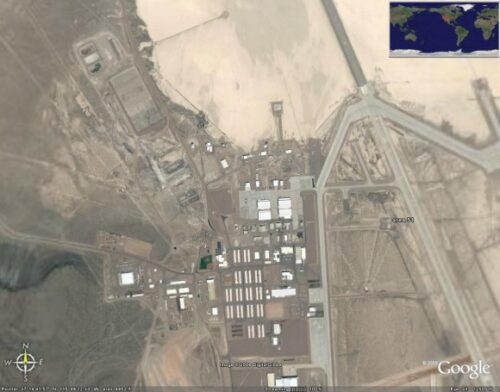 Area 51 on google earth