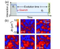 Geproduceerde Sacharov oscillaties in een wolk cesiumatomen