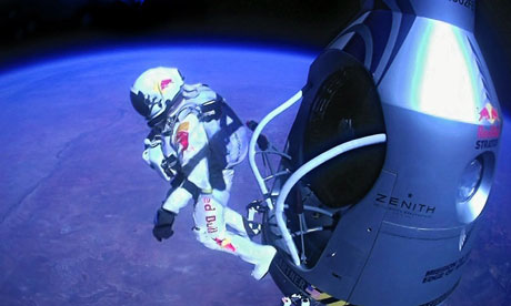 Felix Baumgartner's sprong