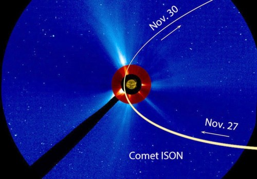 ISON-traject