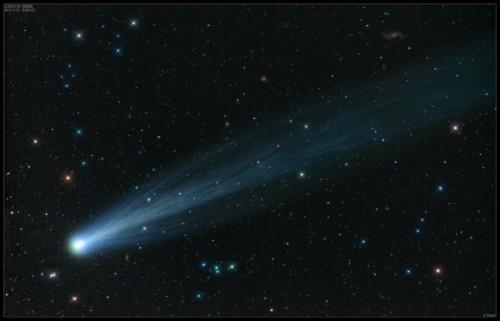 Komeet ISON is nu met het blote oog zichtbaar! (1/3)