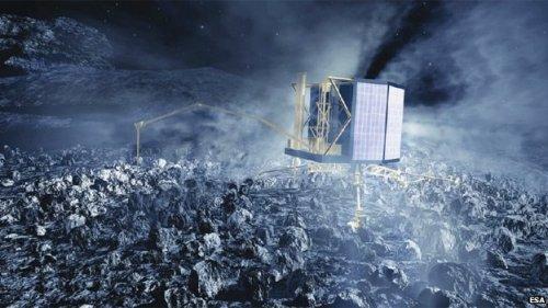 Philae-sonde Rosetta