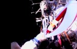 Olympische fakkel meegenomen tijdens ruimtewandeling