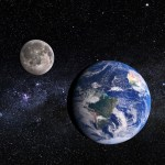 De Aarde en Maan zijn 4,47 miljard jaar oud