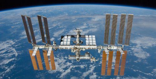 Het ISS zoals het er uit zag bij het vertrek van STS132, Space Shuttle Atlantis in 2010