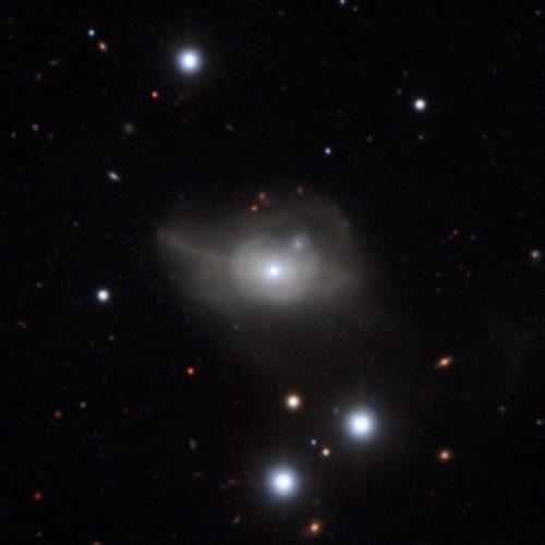 Het actieve sterrenstelsel Markarian 1018