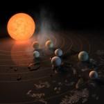 De vorming van zeven exoplaneten rond Trappist-1  is (mogelijk) verklaard