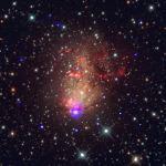 IC 10, een sterrenstelsel vol potentiële bronnen van zwaartekrachtsgolven
