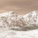 Op Mars kunnen nachtelijke sneeuwstormen plaatsvinden