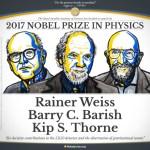 De Nobelprijslezingen 2017 over LIGO en zwaartekrachtgolven