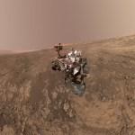 Prachtig, die selfie van Marsrover Curiosity op de Vera Rubin Ridge
