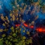 Uitbarsting van de Kilauea-vulkaan te Hawaï vastgelegd door ASTER