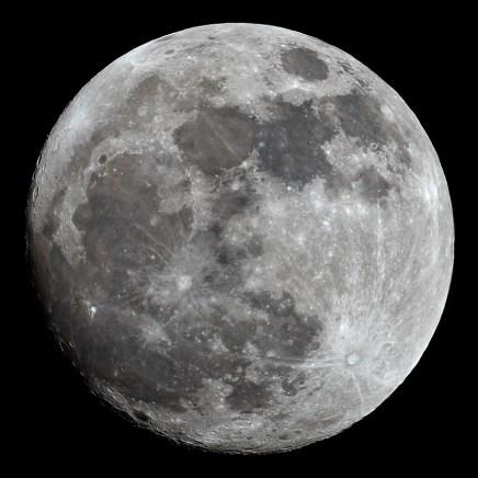 Mjesec, 25.1.2013.