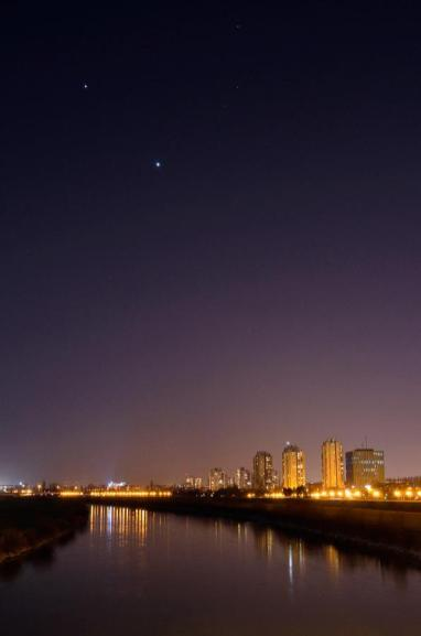 Venera i Jupiter, 5.3.2012.
