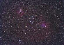 NGC1893 e IC405