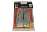Fire rated hinges.