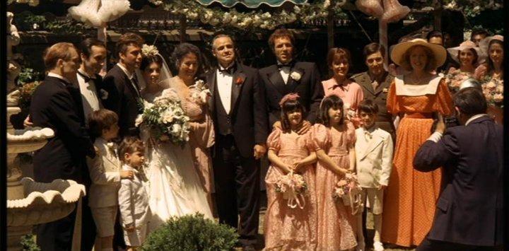 La familia Corleone, un icono de la influencia familiar en el proceso de socialización.