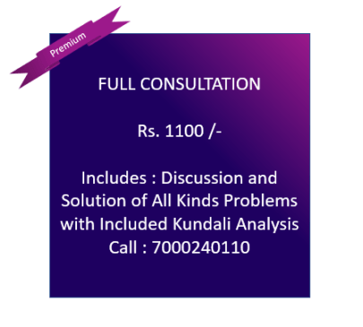 Full Package Consultancy - Rs. 1100