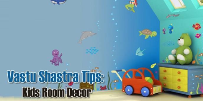 Vastu Shastra Tips for Kids Room Decor