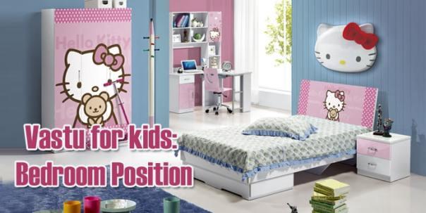 Vastu for kids Bedroom Position