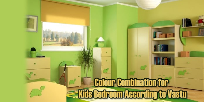 Kids Bedroom Colour as Per Vastu