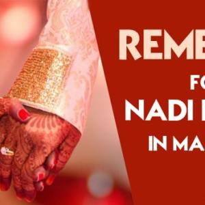 Nadi Dosha And Remedies For Nadi Dosha in Marriage