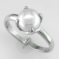 Women's Pearl Rings for Jyotish / Vedic Astrology ...